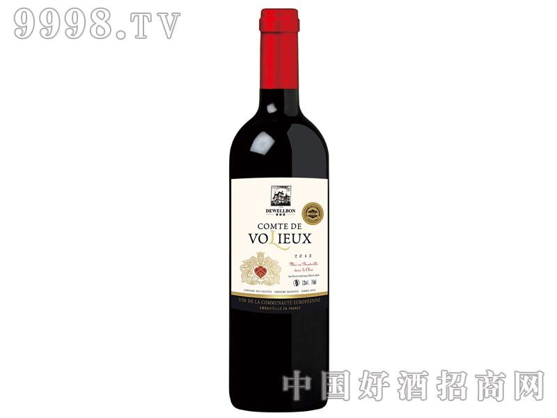 德威堡华列红葡萄酒750ml