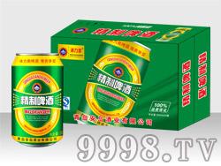 精制啤酒冰力爽320ml