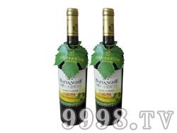 白洋河黄金海岸干红葡萄酒