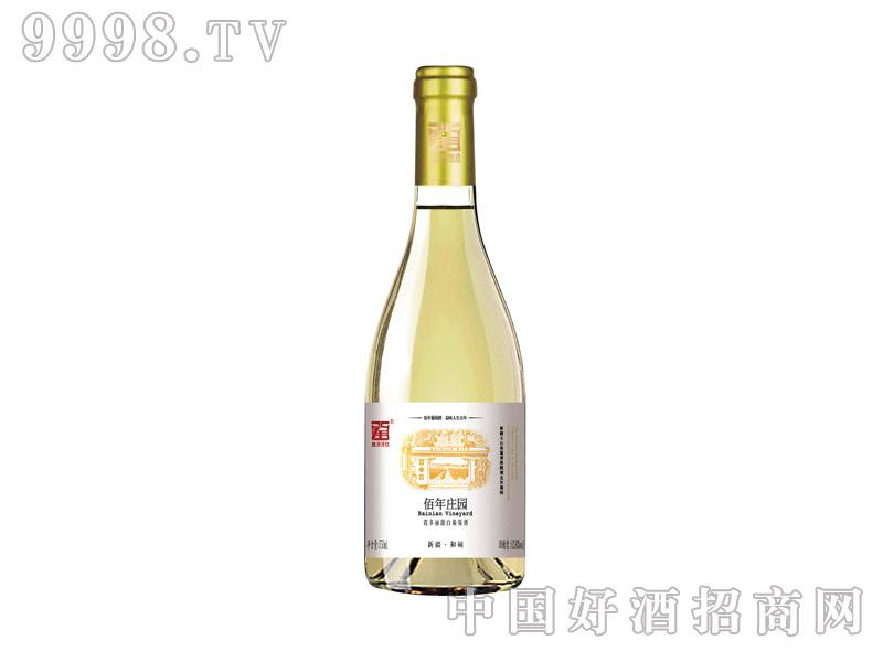 佰年庄园霞多丽甜白葡萄酒