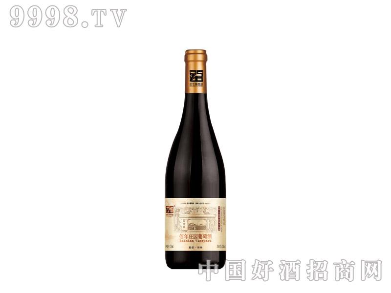佰年庄园有机干红葡萄酒(优选)