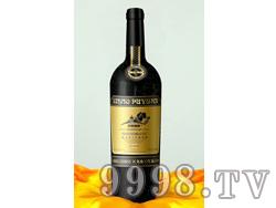 帝昊葡园橡木桶陈酿蛇龙珠干红葡萄酒
