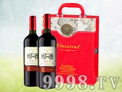 德索曼美乐干红葡萄酒(礼盒装)