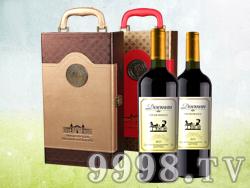 德索曼贵爵干红葡萄酒(礼盒装)