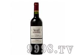 上格拉芙酒庄波尔多法定产区红葡萄酒