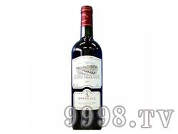老迪拉克酒庄波尔多法定产区红葡萄酒