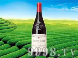 天堂小镇地中海红葡萄酒2011
