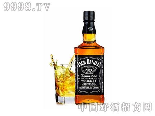 40°美国杰克丹尼田纳西州威士忌礼盒700ml