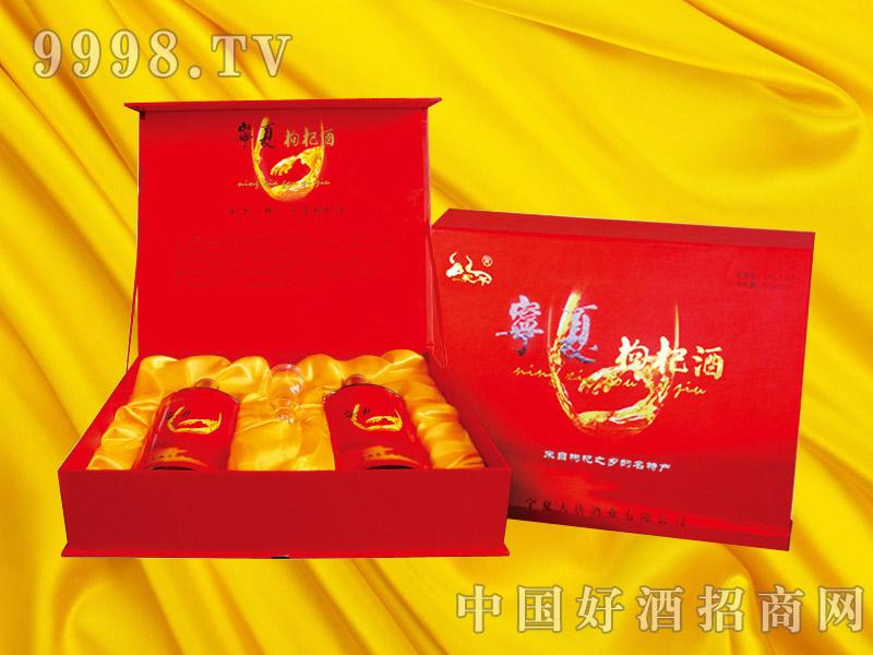 宁夏枸杞酒爱之尊礼盒500ml