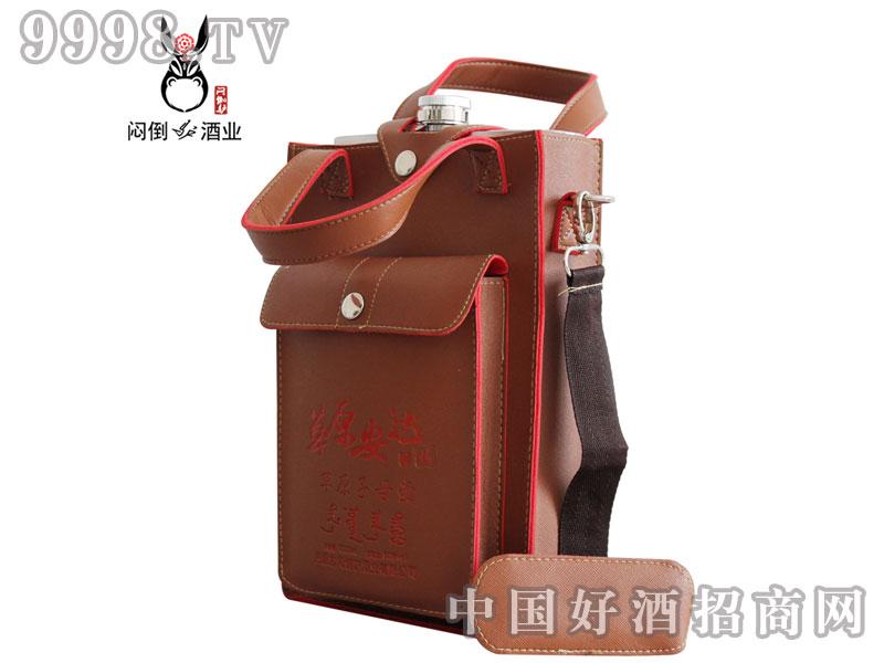 草原安达三斤子母壶(红)