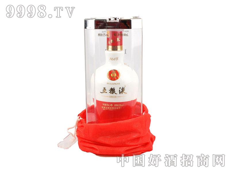 52°五粮液1618陶瓷瓶