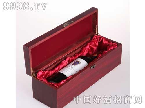 干红葡萄酒单支装木盒