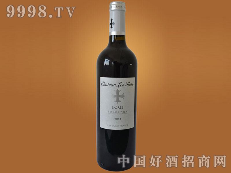 法国波尔多十字洛蕾干红葡萄酒