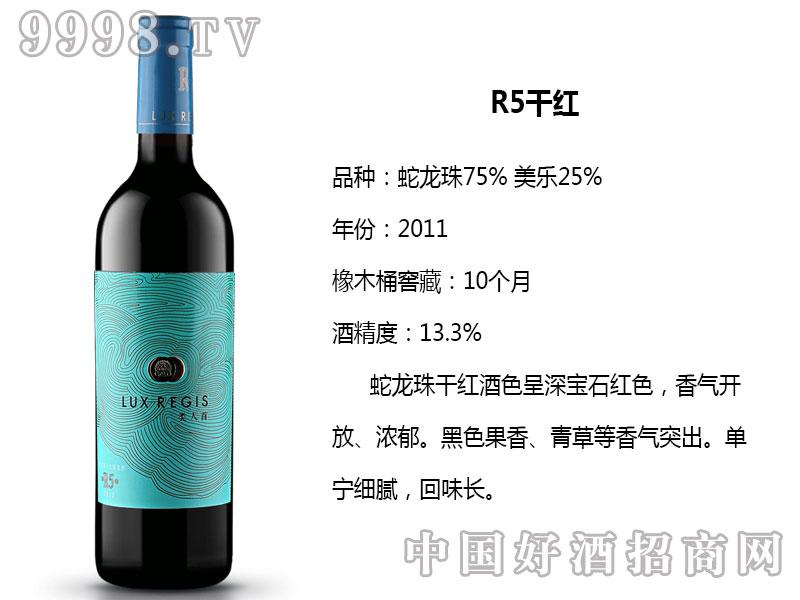 类人首红酒-R5干红葡萄酒