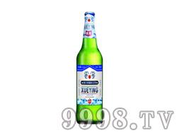 雪影啤酒500ml蓝瓶冰纯12瓶