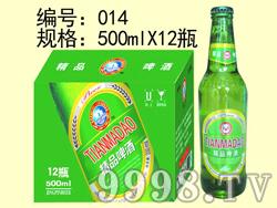 精品啤酒-500mlx12瓶