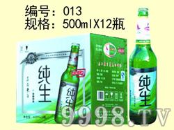 纯生啤酒-500mlx12瓶