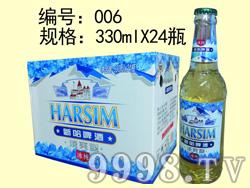 冰纯新哈啤酒-330mlx24瓶