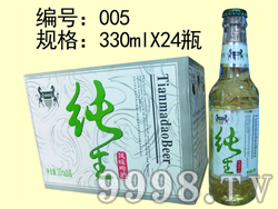 纯生风味啤酒-330mlx24瓶