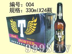 杰克啤酒-330mlx24瓶