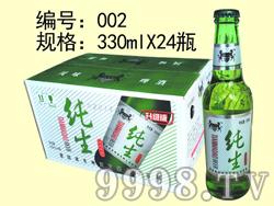 纯生啤酒升级版-330mlx24瓶