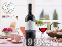 法国拉菲传说波尔多红葡萄酒
