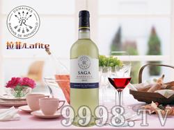 法国拉菲传说波尔多干白葡萄酒