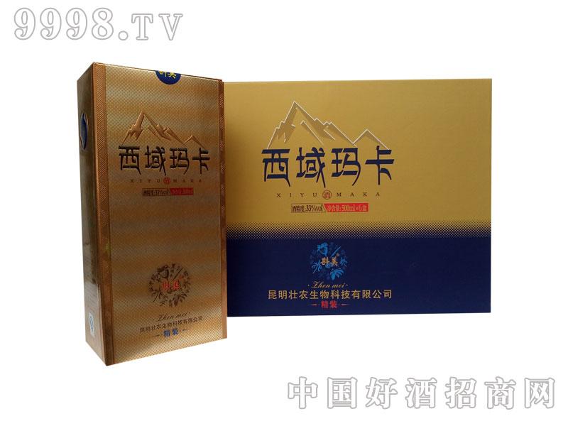 西域玛卡酒500ml精装3