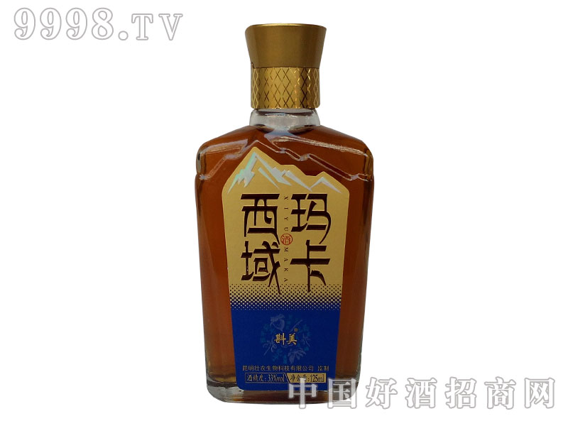 西域玛卡酒125ml蓝标装
