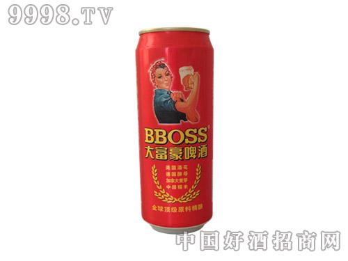 红罐大富豪啤