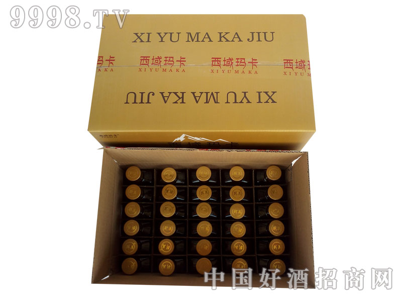 西域玛卡酒125ml红标装3