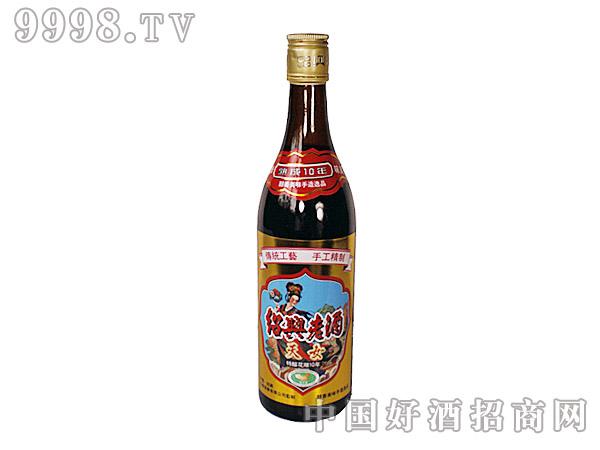 绍兴老酒特酿花雕十年600ml