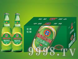 崂山泉330ml精品啤酒1X24