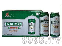 立威啤酒精制箱装500X12罐