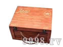 雅诺6支木箱