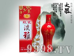 A古井原浆红瓷淡雅