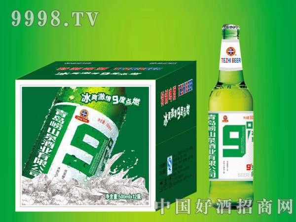 崂山泉九度升级版500ml1X12