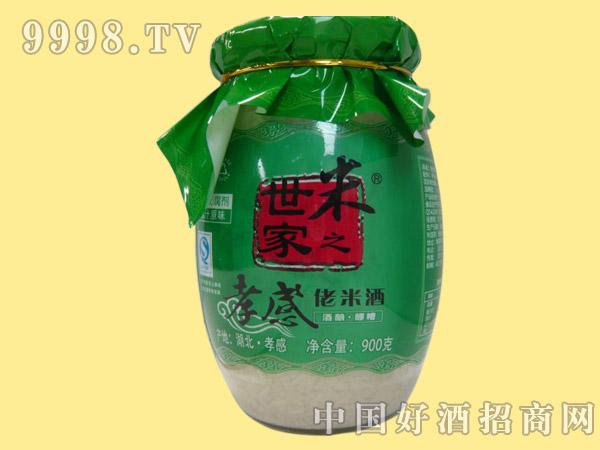 米之世家孝感佬米酒900g