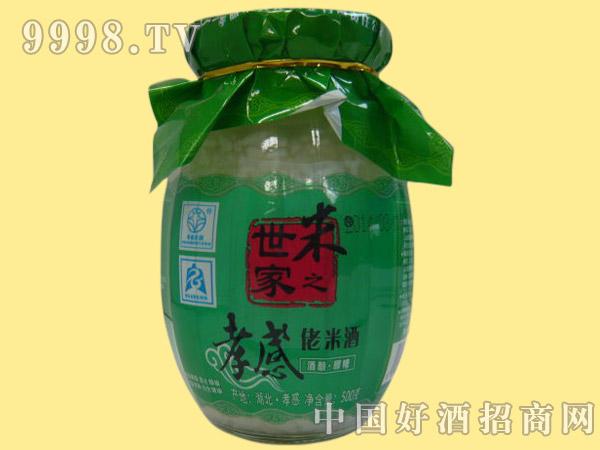 米之世家孝感佬米酒500g