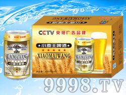 易拉罐330毫升小麦王