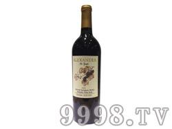 亚历山大红葡萄酒