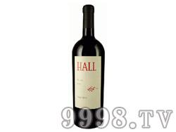 郝尔酒庄美乐红葡萄酒