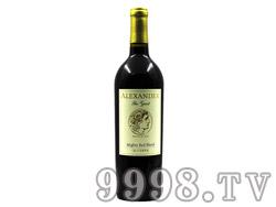 亚历山大大帝混酿红葡萄酒