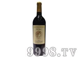 亚历山大大帝红葡萄酒