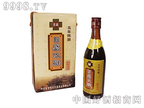 日盛太雕酒五年陈酿500ml