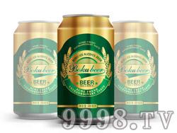 博酷冰爽啤酒330ml