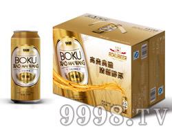 博酷小麦王啤酒500ml(外箱)