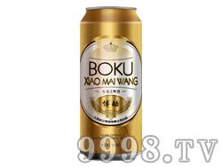 博酷小麦王啤酒500ml