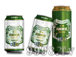 博酷葛根啤酒330ml 500ml