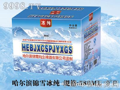 哈尔滨锦雪冰纯580ML